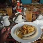 my ackee breakfast