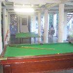  The games area.