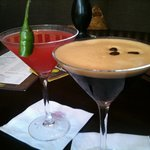 Sweet Chilli (i like it hot) Expresso Martini ....