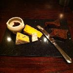 the cheese and biscuits .. sorry malt cake
