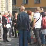 Old Town Walking Tour- in front of Nobel Museum