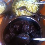  daube de marcassin aux tagliatelles