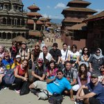 Romanian Tourist visiting Nepal with Good karma Trekking