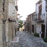 one of the enchanting streets in Roccapalumba