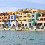 View from the Grand Canal of the Marina Cap Cana.