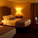 Guest rooms are clean, well-furnished and in excellent shape.