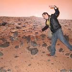 "on the surface of ""Mars"""