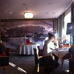  breakfast at hanza hotel in Gdansk