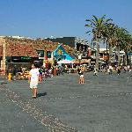 The main street of Hermosa Beach