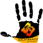 Palm beach Restaurant Logo