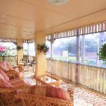 Relax on the veranda after travelling or sightseeing