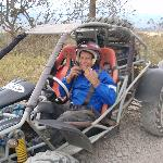 4-wheeler that you can hire to take you to the bus stop