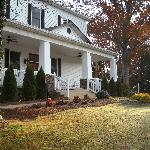 Snow Hill Inn, Franklin NC, 11-11, Frosty morning in November