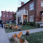 Inn at Nauvoo and Mercantile Store, set up for the Halloween festival