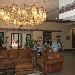Lobby of the Dodge House Hotel, Dodge City, KS
