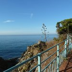 Passeggiata Anita Garibaldi a Nervi