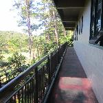  Balcony behind our room. I loved this view.