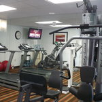 Work out room with all the stuff you would need