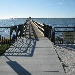 Public pier at St Joseph Sound