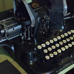  Mr. Bowler&#39;s typewriter.