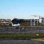  KC Stadium across from the hotel