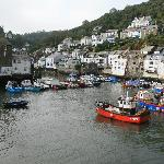 The harbour at Polperro