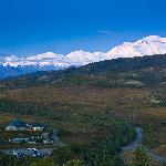 North Face Lodge has views of Mt. McKinley and the Alaska Range at its doorstep.