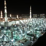  A night view of HARAM from the room
