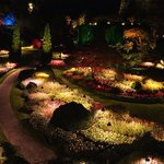 Buchart Gardens Night