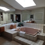 Master bath was awesome & had seperate shower