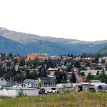 Looking N. into Leadville
