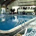 The island's only indoor swimming pool