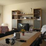 the comfy living/breakfast room