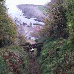Railway down to Lynmouth was closed