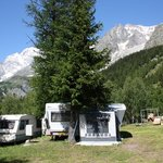 Camping Grandes Jorasses