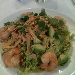 cilantro shrimp salad