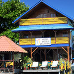Hotel Bocas del Toro from the water