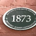 Plaques found throughout Historic Albany