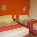 Our 2 double bed room