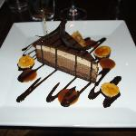 The peanut butter and chocolate cake, yummy as well !