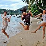 Jumpshot at the shore