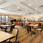 Expanded Continental Breakfast Area