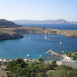 Views of lindos
