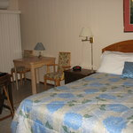 View of one room at Stone Fountain Motel