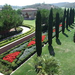 Italian style landscaping