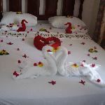 The bed for the couple <3
