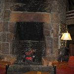 Great Fireplace in Main Lobby