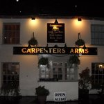 The Carpenters Arms at night