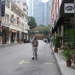  Street full of eateries, leads you to Bugis Junction (3 minutes!)