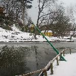 Peasholm in Winter